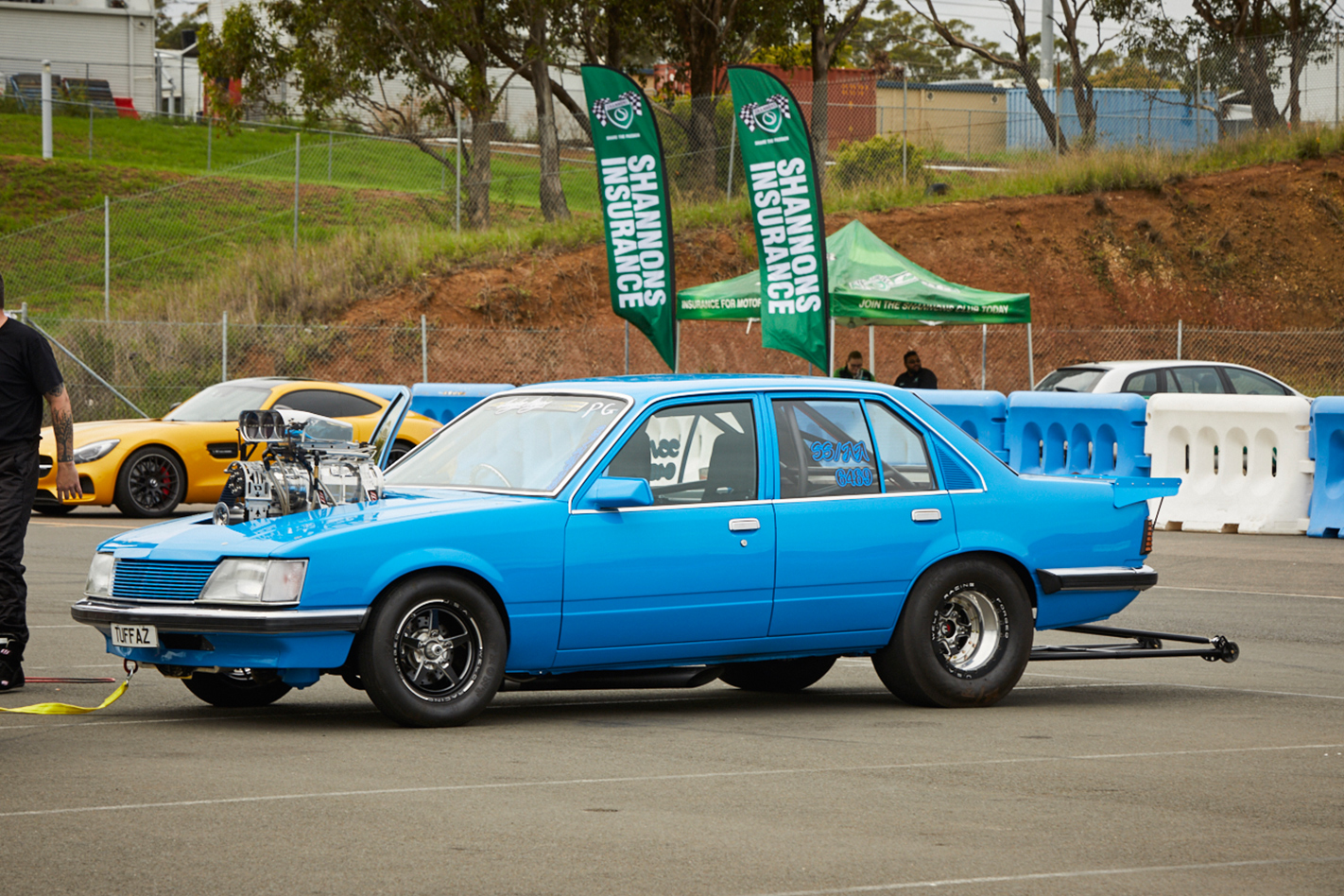 Grudge Kings Chris Barter's VH Commodore