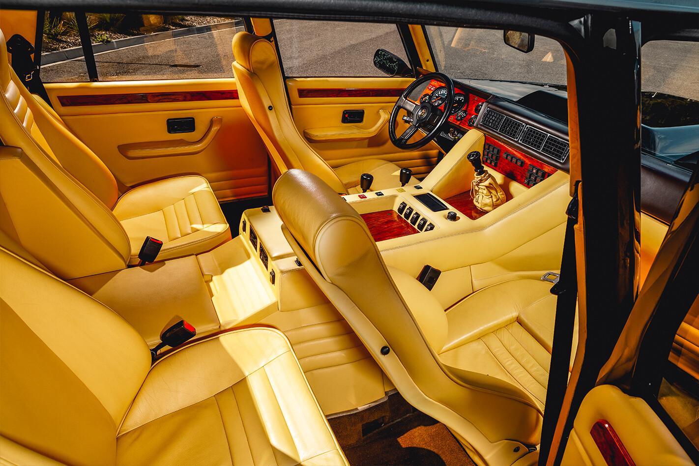 Lamborghini LM 002 Interior Jpg