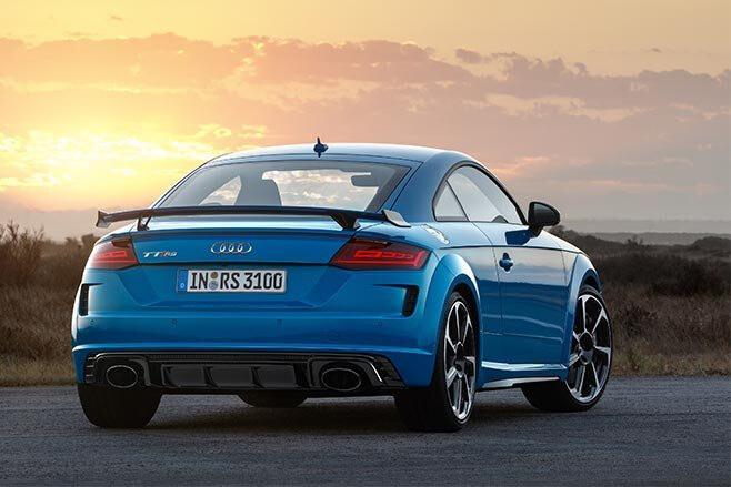 2020 Audi TT RS rear