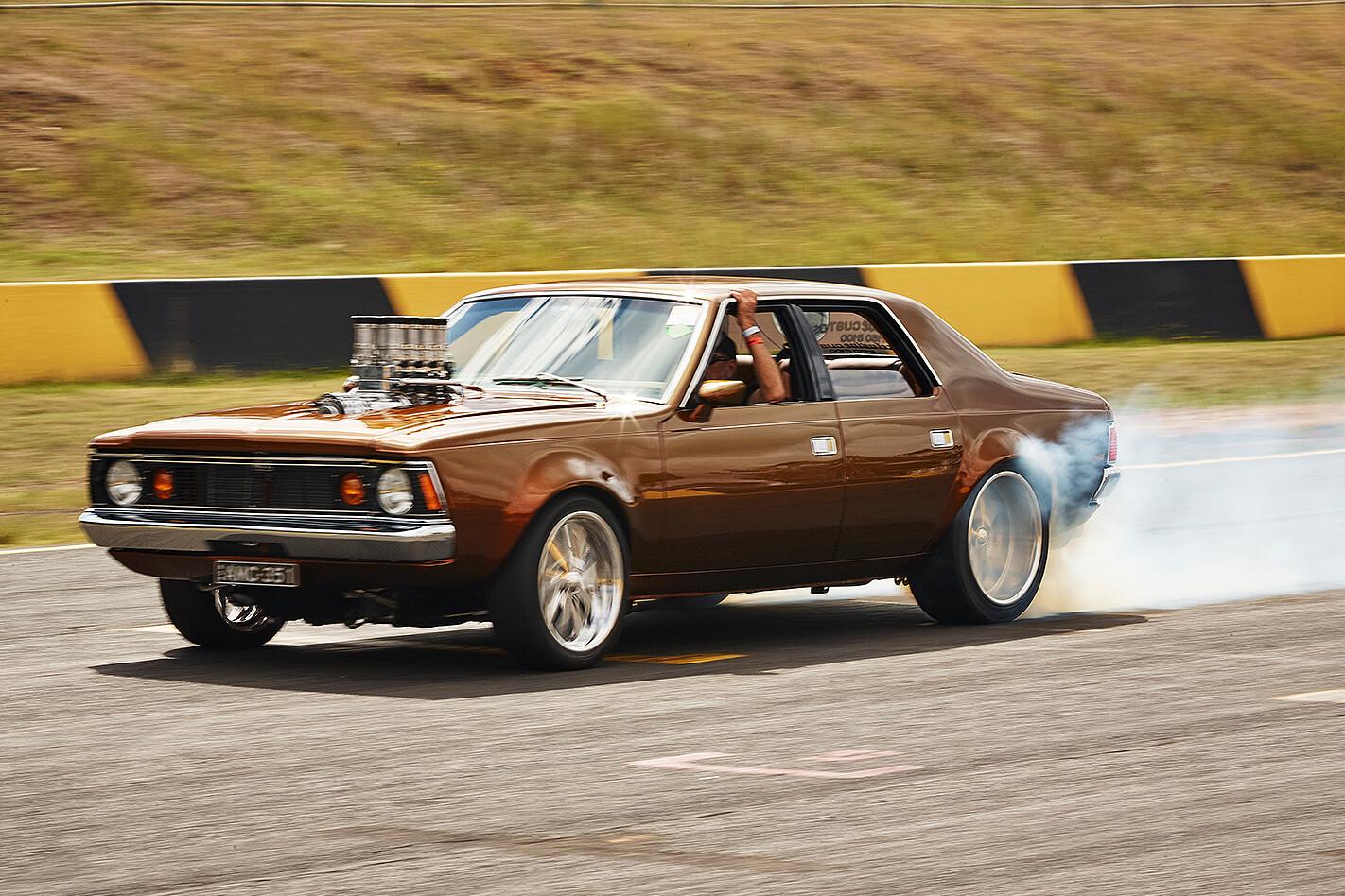 Michael Brown's Rambler Hornet at Powercruise