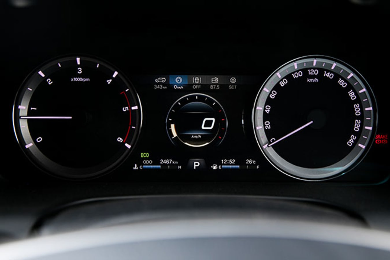 SsangYong Musso XLV Ultimate gauges
