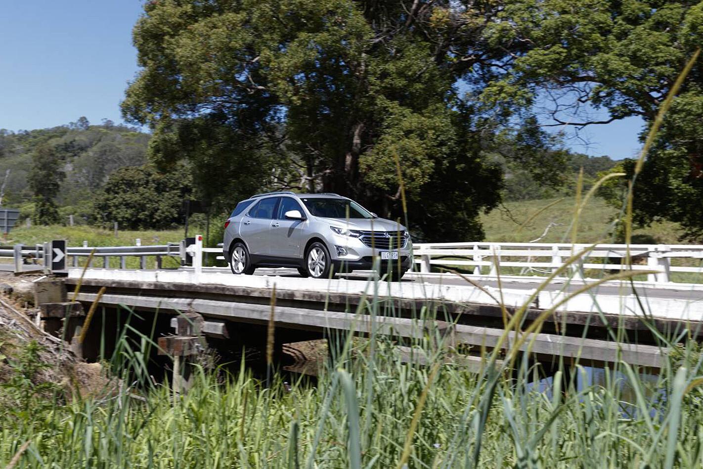 Holden equinox diesel country side