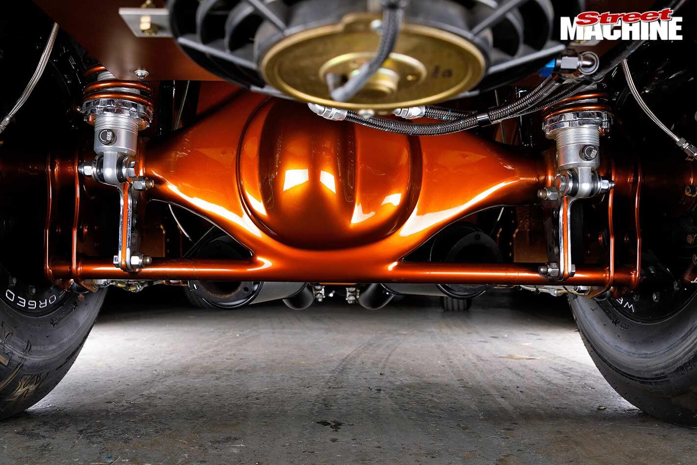 Ford Capri underside