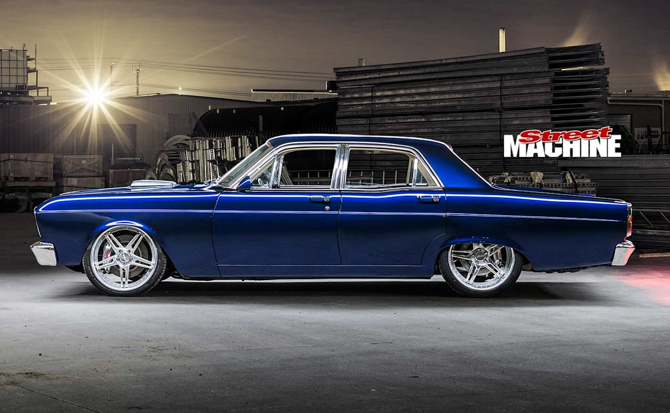 Ford ZB Fairlane side