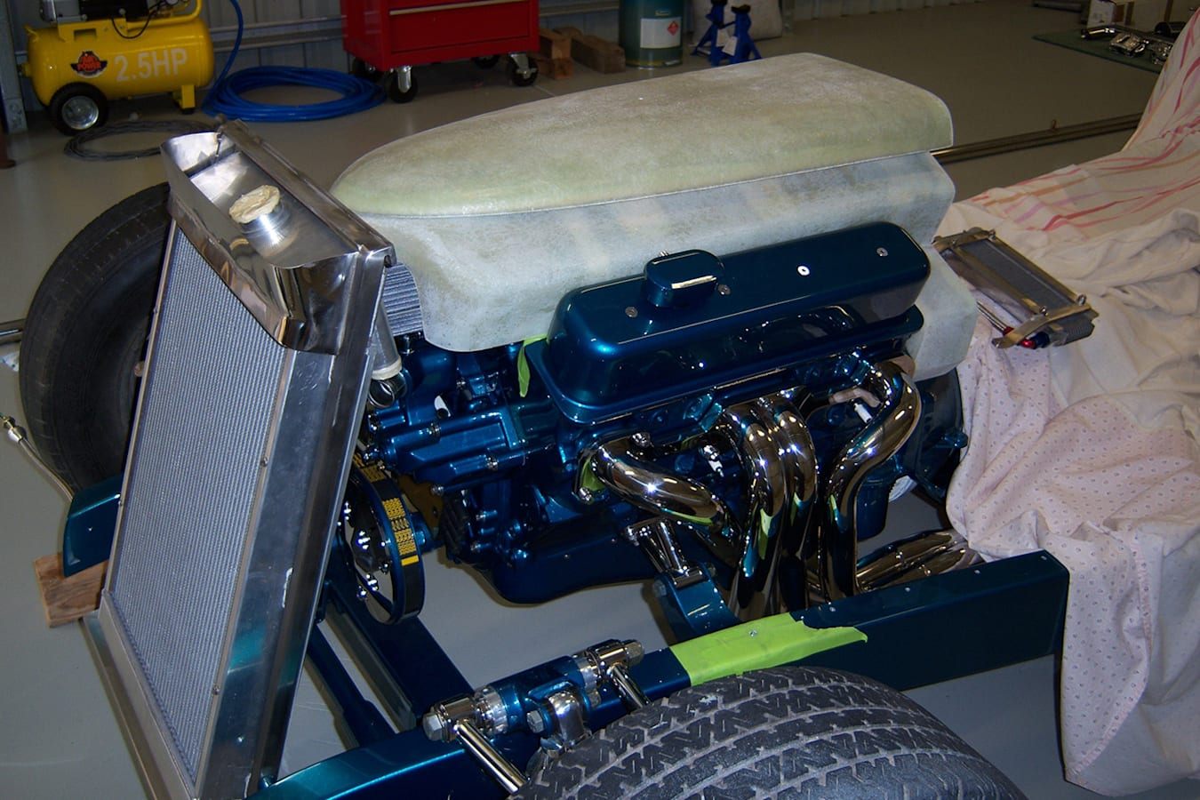 Ford Roadster in the build