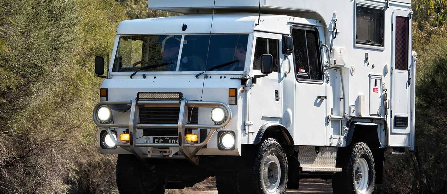 Custom Land Rover FC101 review