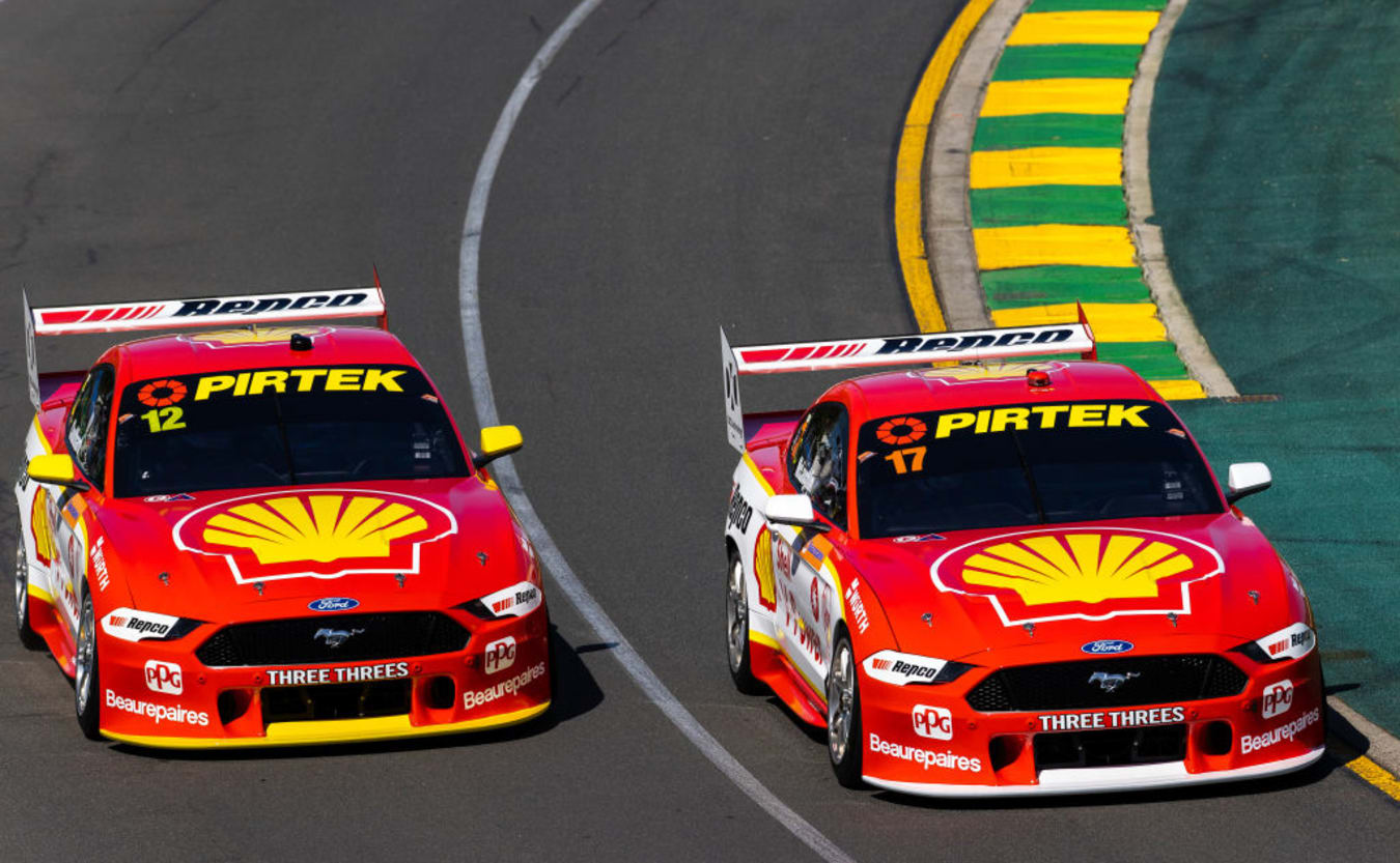 Supercars Albert Park 2020 DJR