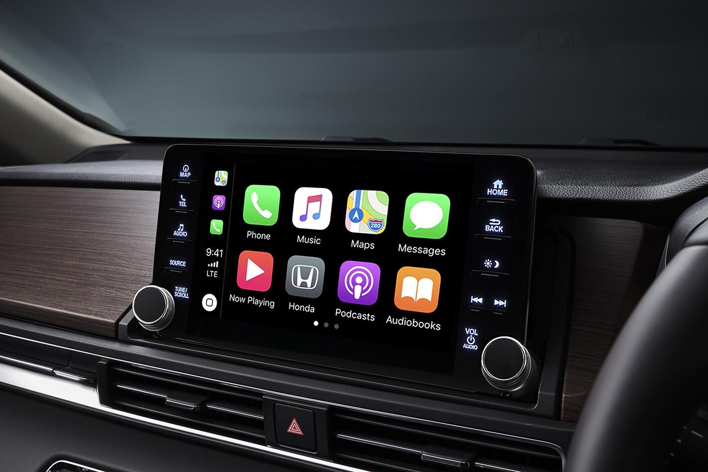 Honda Odyssey apple carplay