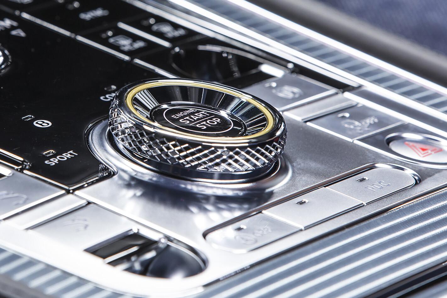 2019 Bentley Continental Gt Aust Interior Startbutton Jpg