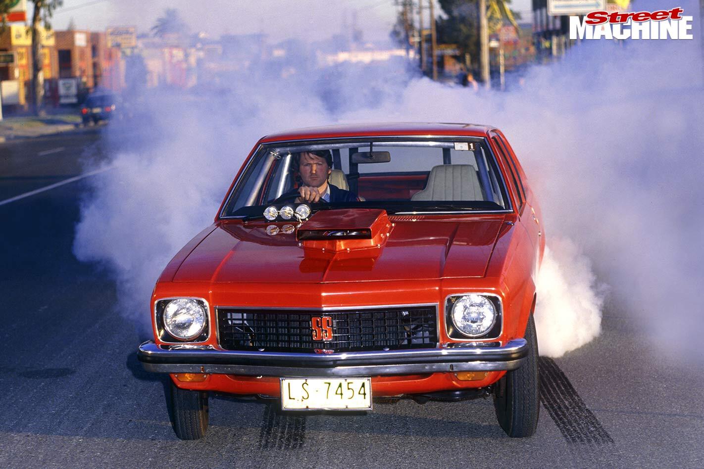 Holden Torana A9X burnout