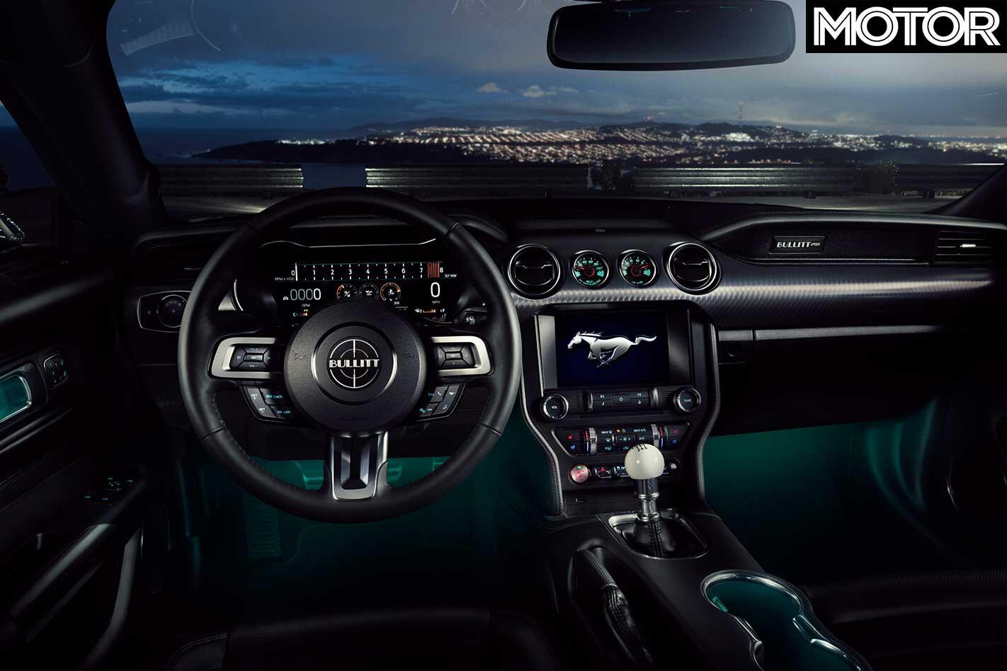 2018 Ford Mustang Bullitt Interior Jpg