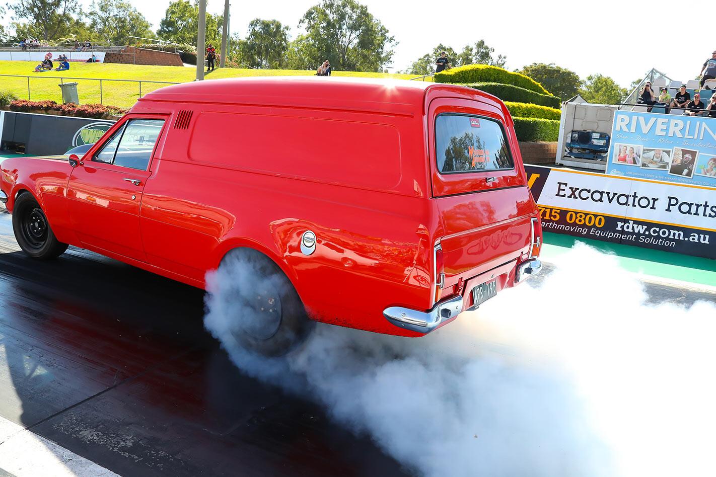 Al Ponting Holden wagon