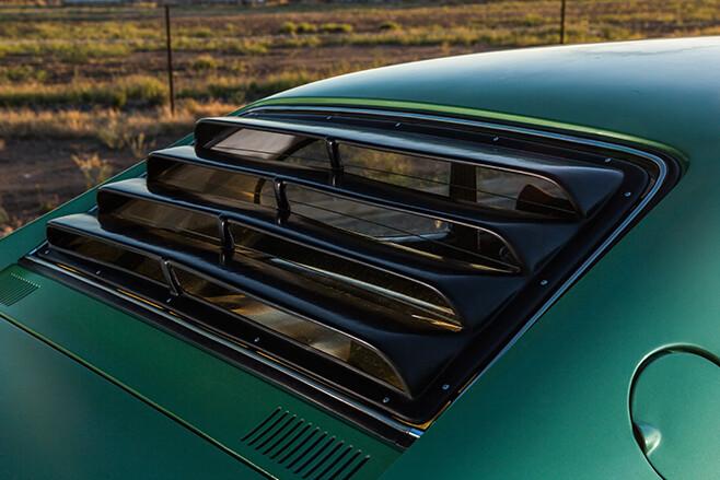 Ford Capri rear louvre