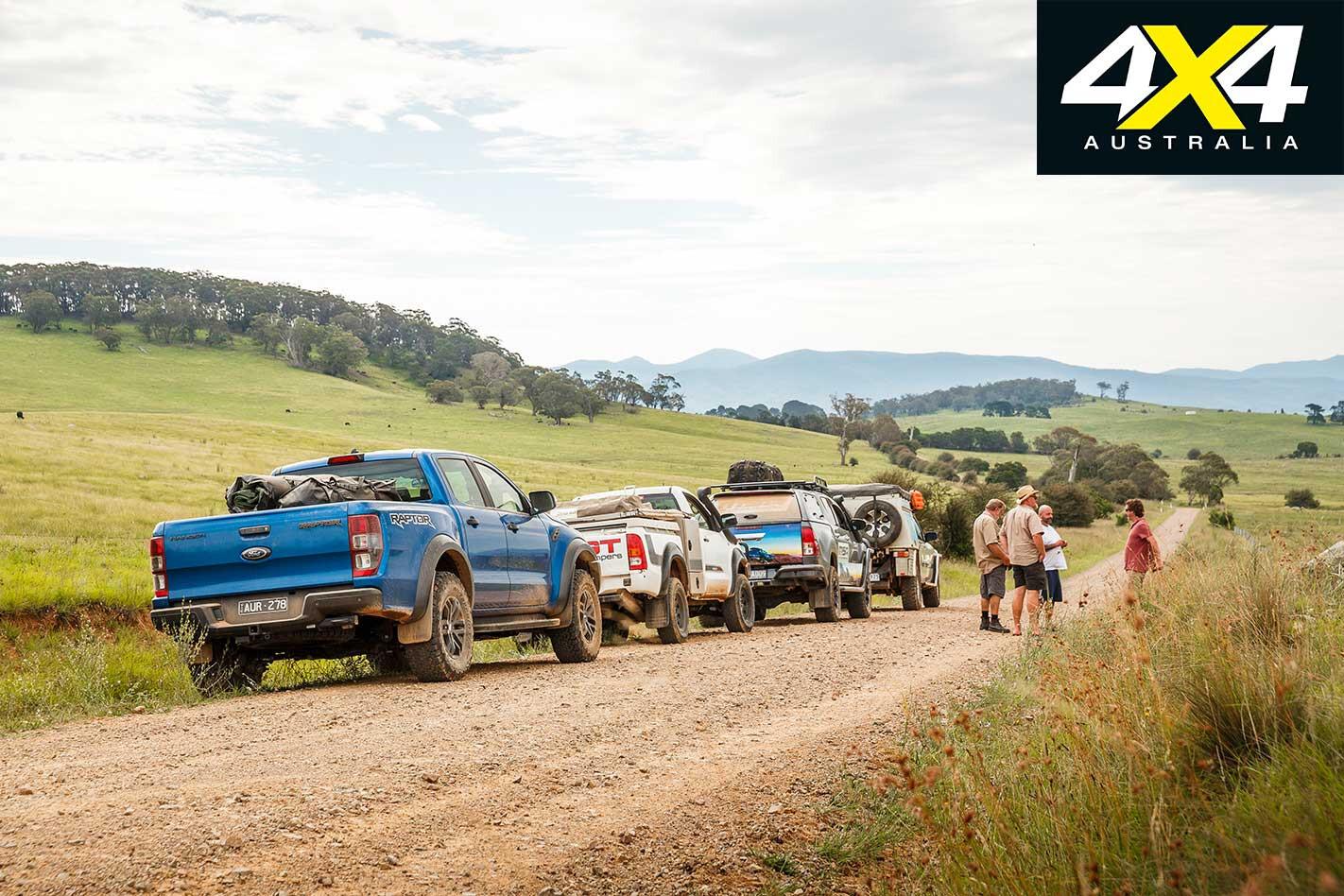 4 X 4 Convoy South Coast NSW Jpg