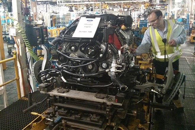 FPV GT-F 500 engine