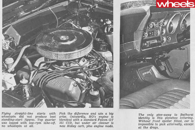 Ford -Falcon -351-GT-engine -and -interior