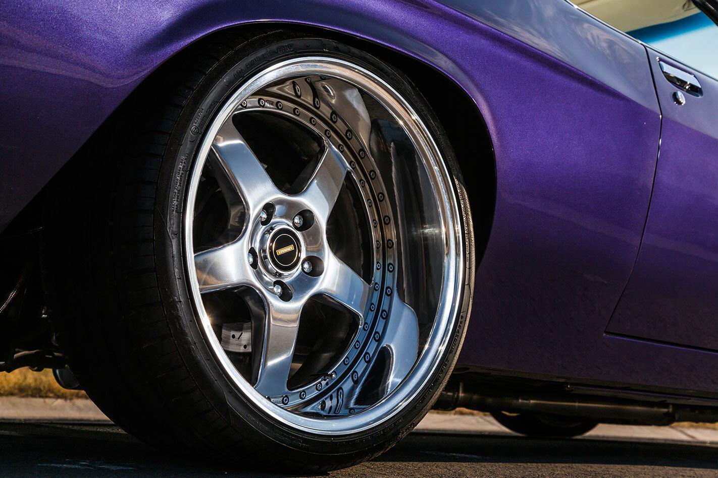 Holden HQ Monaro wheel