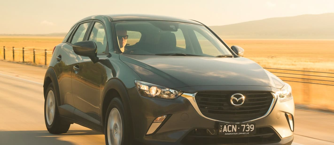 Mazda CX 3 Front Side Driving Jpg
