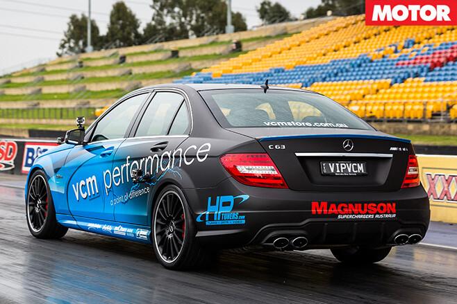 VCM Performance Mercedes-Benz C63 AMG rear