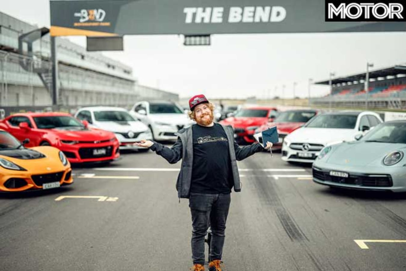 Behind The Scenes Performance Car Of The Year 2020 Photoshoot Jpg