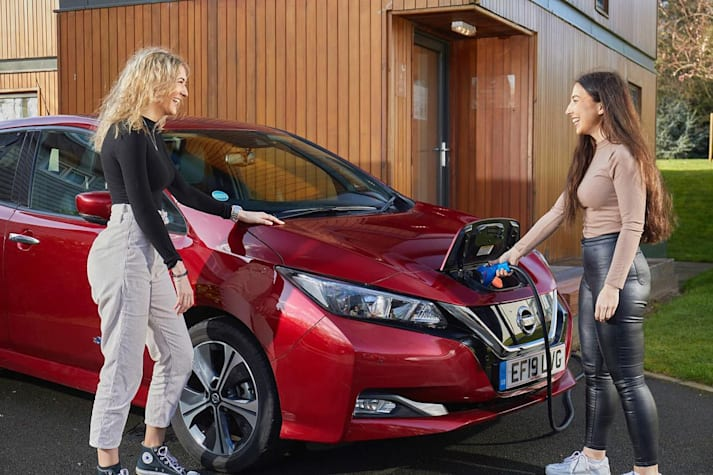 Nissan to Leaf vehicle to grid