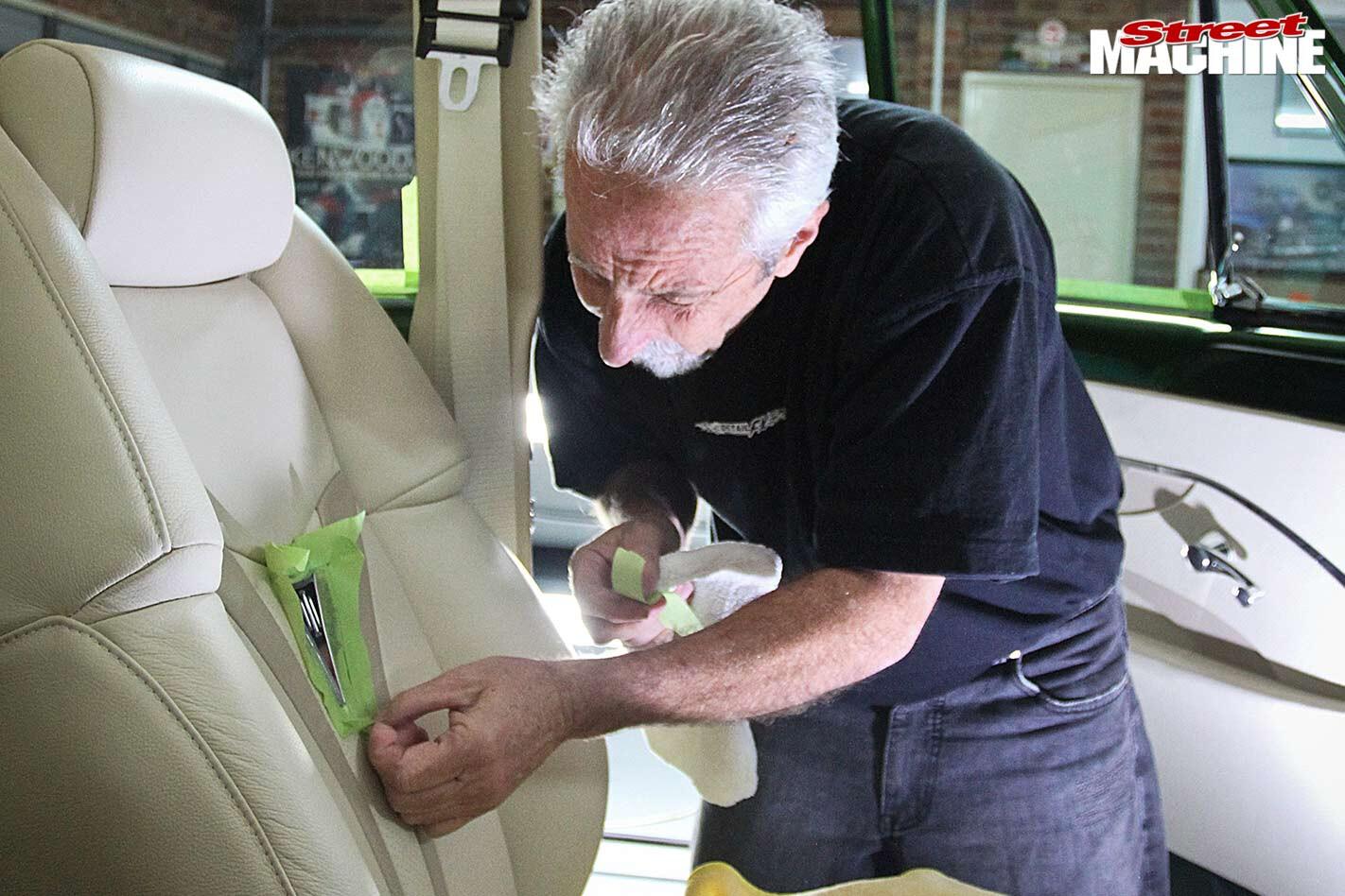 car show prep seats