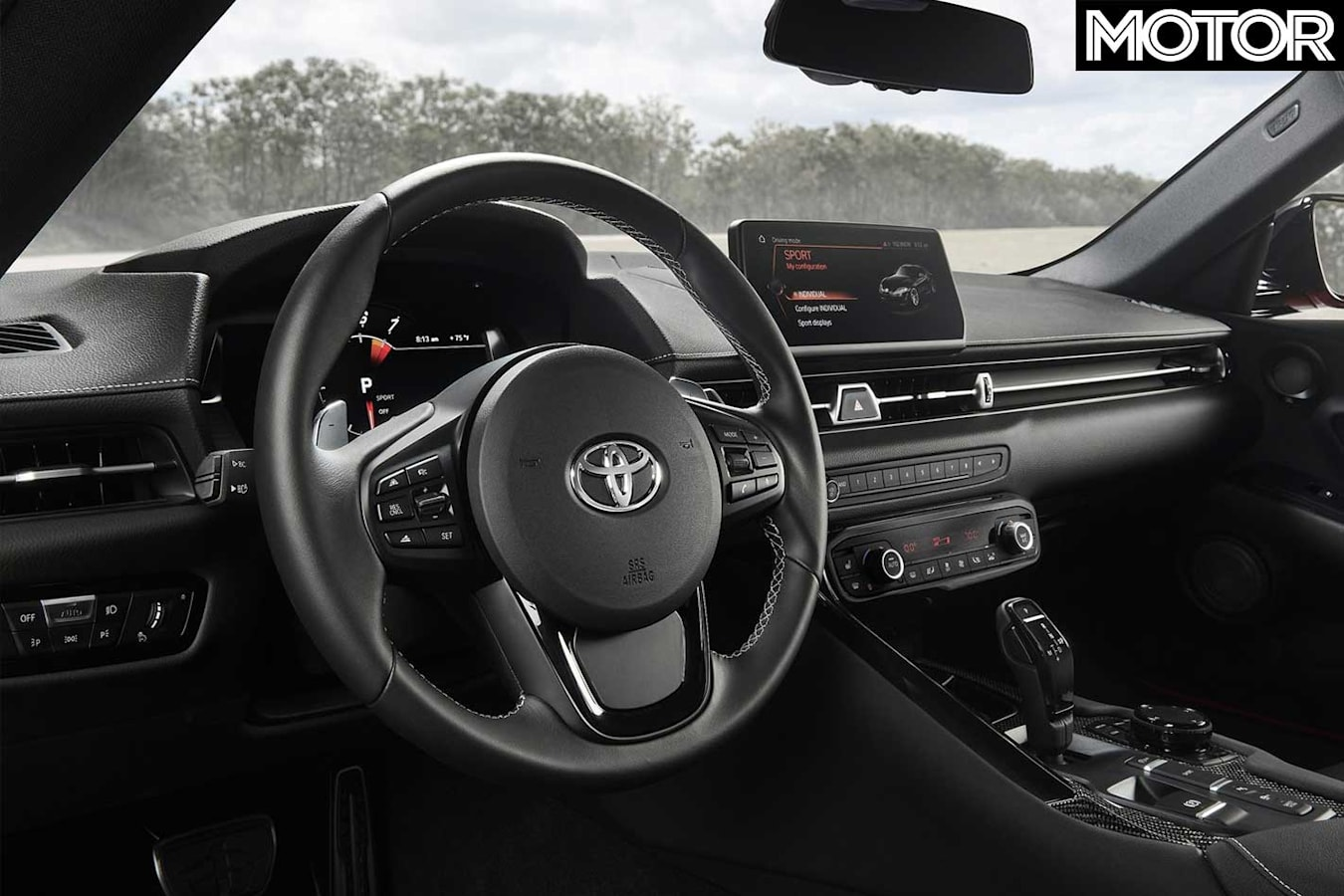 Did Toyota Get The 2020 A 90 Supra Right Interior Jpg