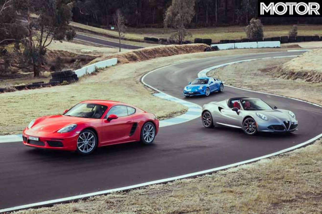 Alpine A 110 Vs Porsche 718 Cayman Vs Alfa Romeo 4 C Spider Comparison Jpg