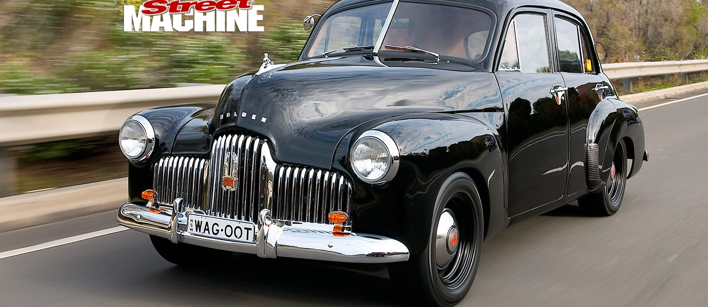 HOLDEN FX WITH A SUPER-RARE WAGGOTT TWIN-CAM