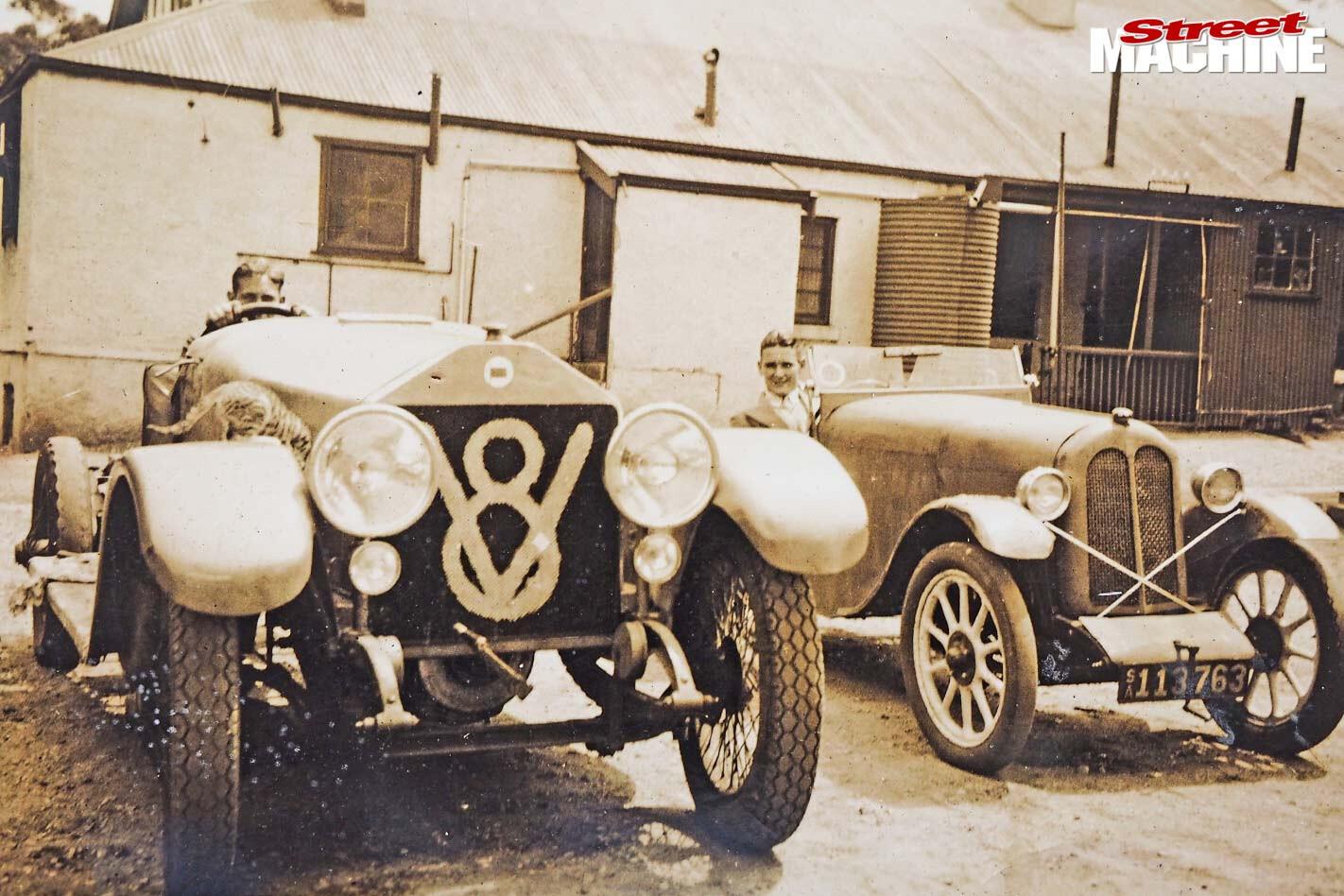 Eldred Norman 1922 Lancia Dilambda V8