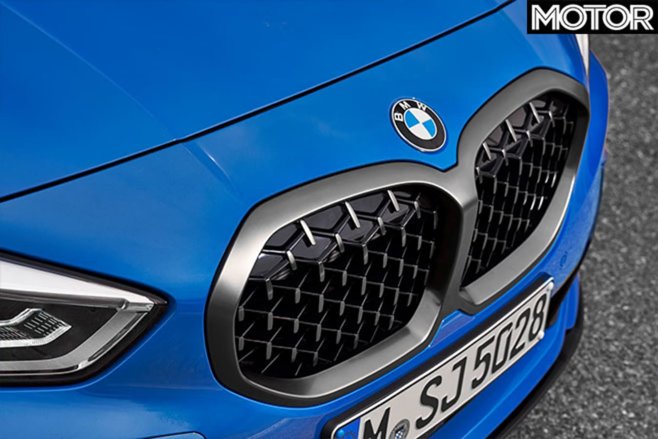 2020 BMW M135i grille