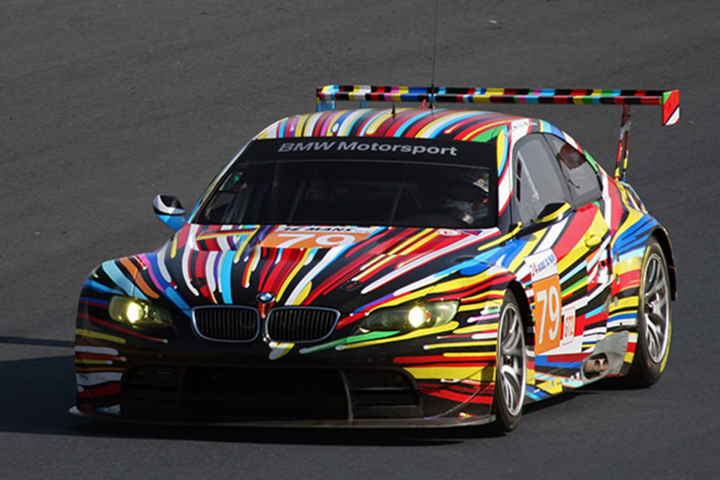 2010 BMW M3 GT2 by Jeff Koons