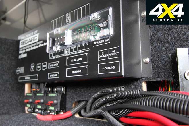 MSA 4 X 4 Custom Toyota LC 200 6 X 6 Update 5 Electrical System Jpg