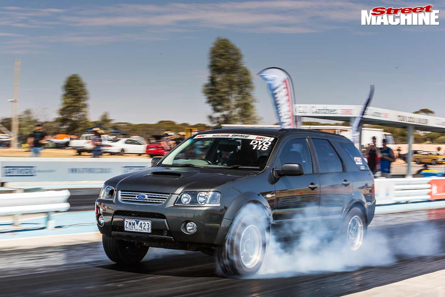 Drag Challenge 2017 Ford Territory