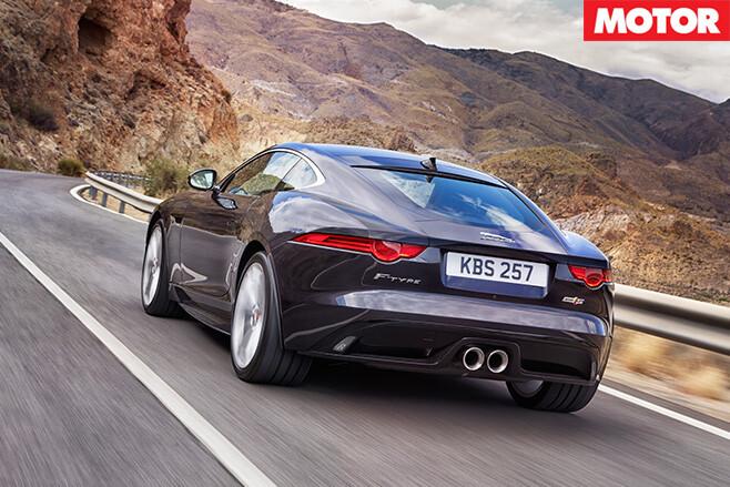 Jaguar F-Type V6 S AWD rear