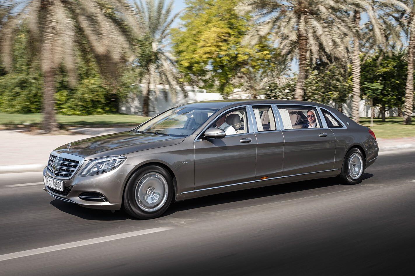 2017 Mercedes-Maybach Pullman S600 - The Shabby Sheikh