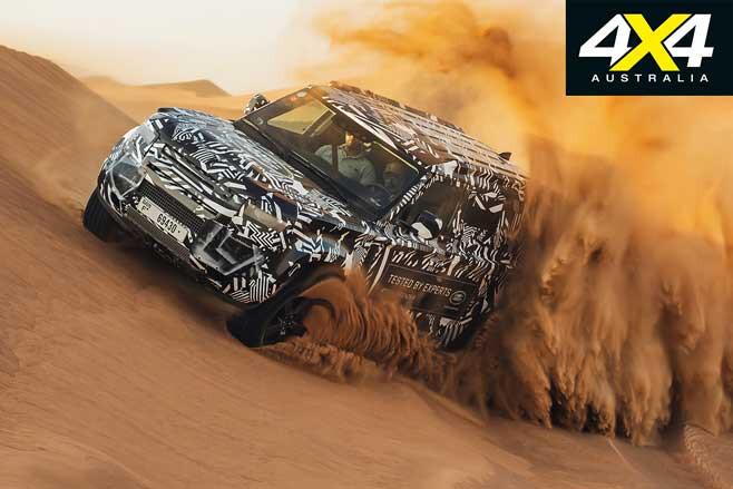 2020 Land Rover Defender Prototype Camoflague Jpg