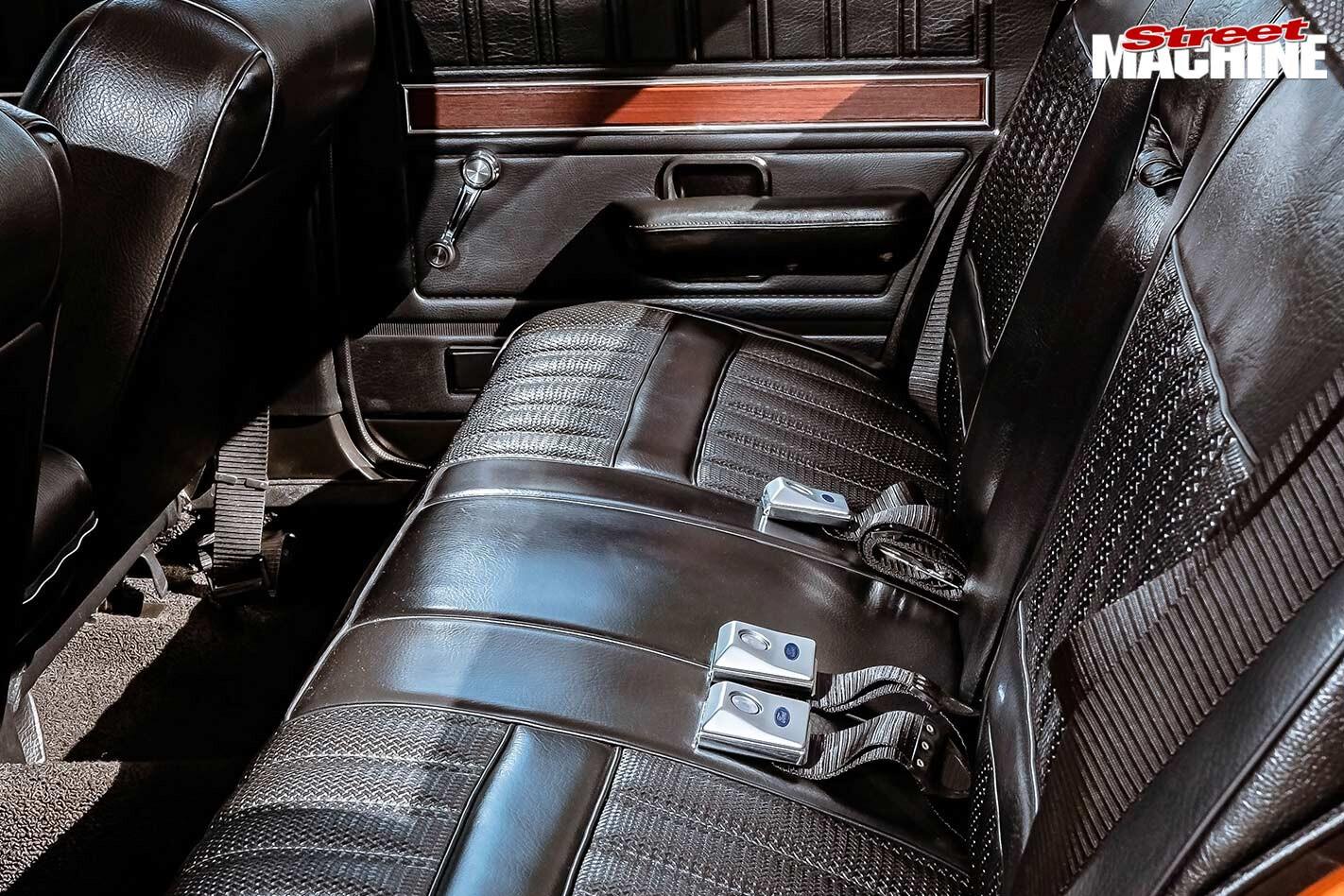 Ford XY Fairmont rear seat