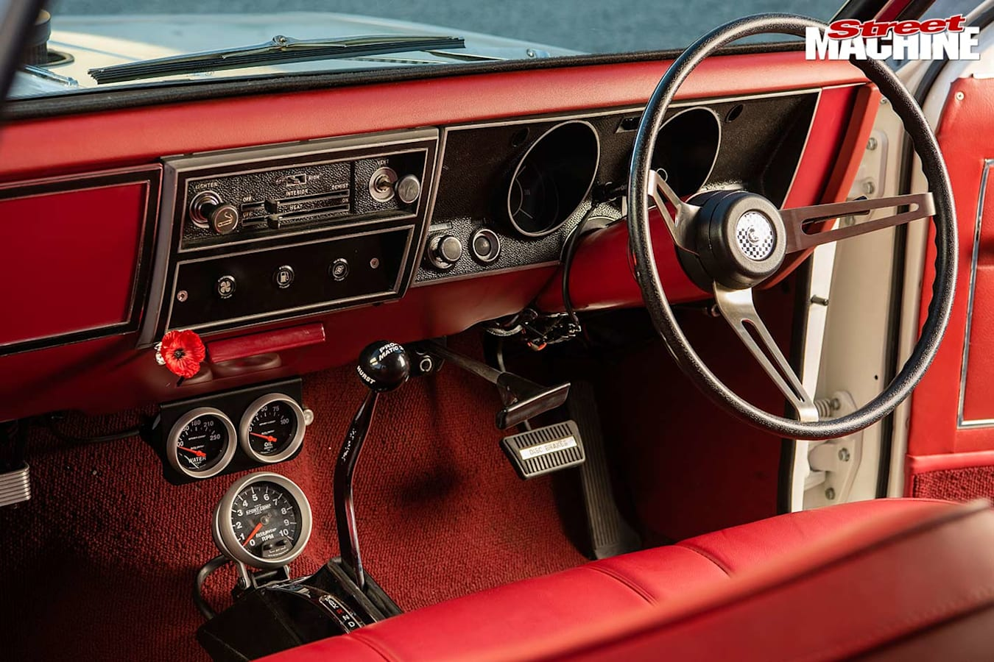 Holden HT wagon dash
