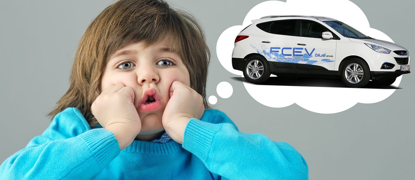 Boring hydrogen fuel cell vehicles