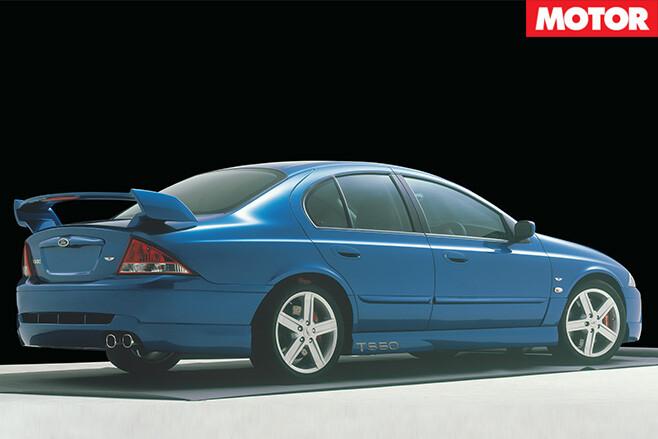T3 T-Series rear