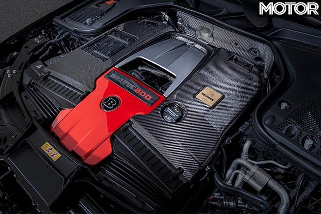 AMG 4.0-litre twin turbo V8 brabus 800