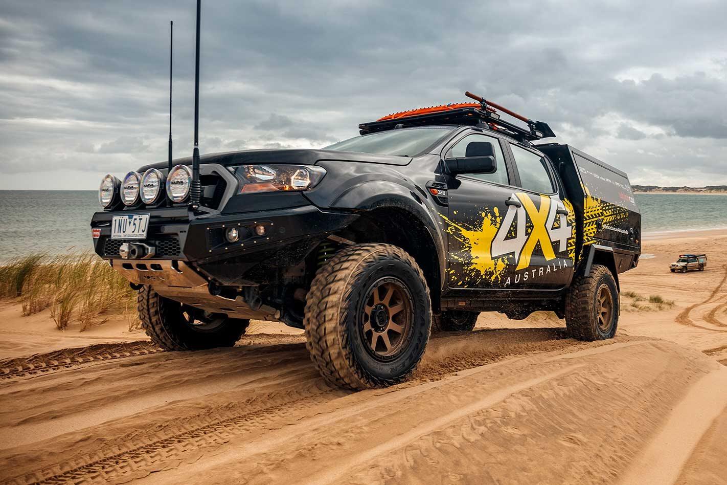 Custom Ford Ranger 4x4 touring build guide