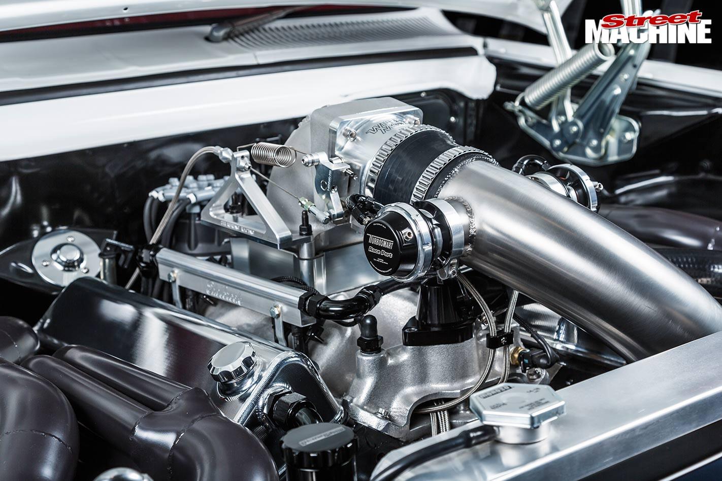Holden HT ute engine bay