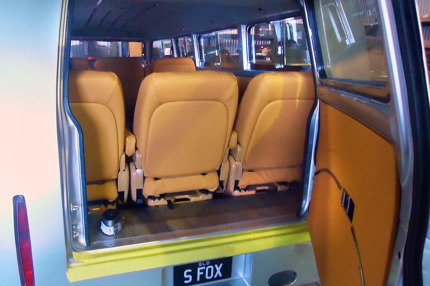 Silver Fox Bus rear