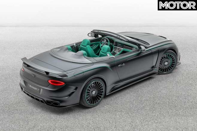 Bentley Continental GTC V 8 Top Rear Jpg