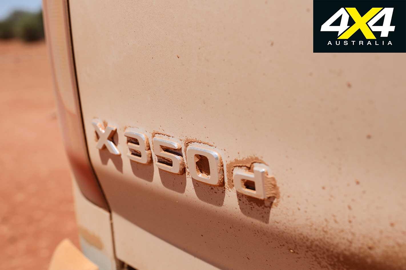 2019 Mercedes Benz X 350 D Badge Jpg
