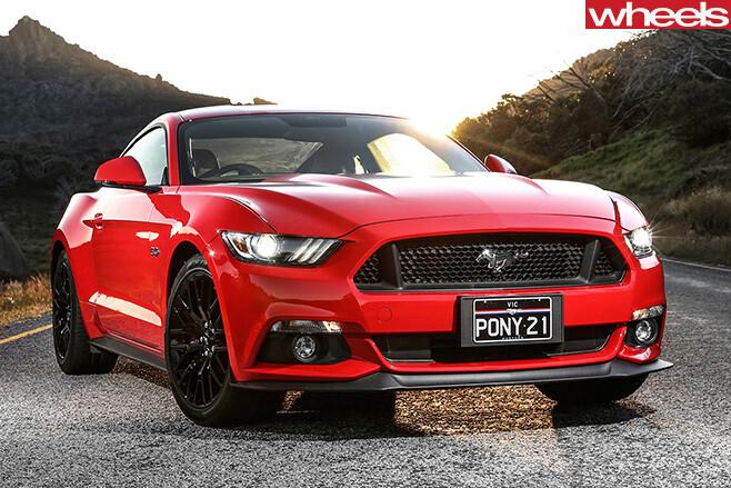 Ford -Mustang -Australian -model