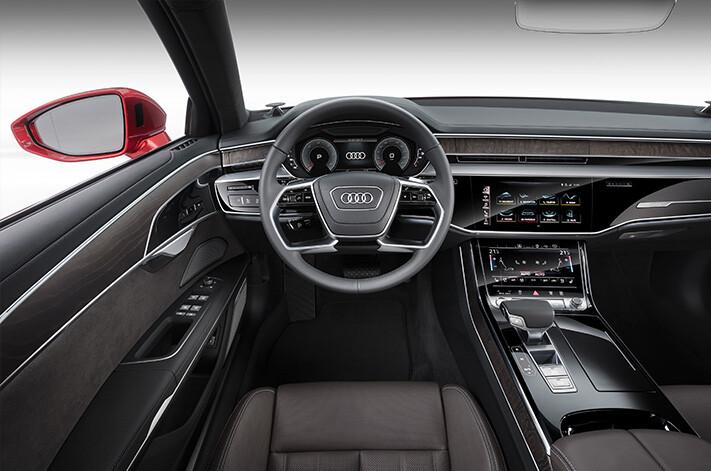 Audi Autonomous A 8 Interior Jpg