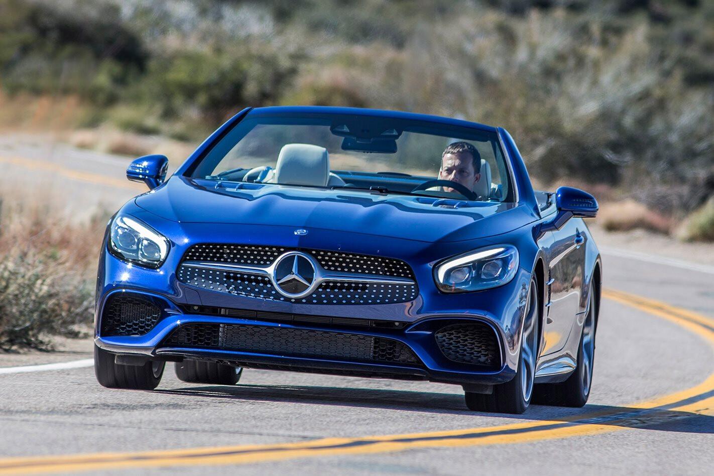 Geneva Motor Show 2016 Mercedes-Benz SL review